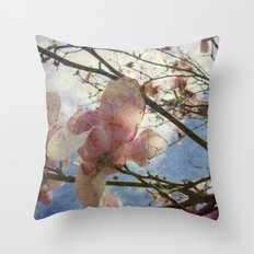 Hanging By A Moment Textured Throw Pillow