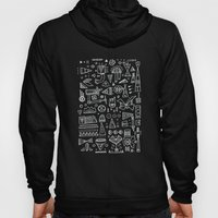 Triangle doodles Hoody