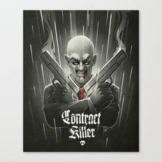 Contract Killer Canvas Print