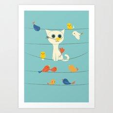 Birdwatching Art Print