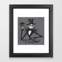 Gentleman Jack Framed Art Print