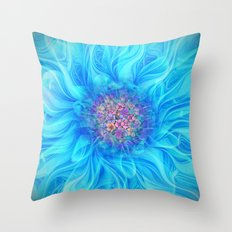 Fractal Flower 2 Throw Pillow