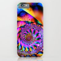 iPhone Cases featuring Embossed Maximalism by 21citrouilles