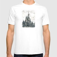 Disneyland Mix Mens Fitted Tee White SMALL