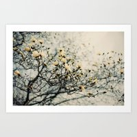 Honey Scented Breeze Art Print