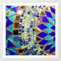 Mosaic And Beads [photog… Art Print