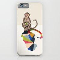 Walking Shadow, Monkey iPhone 6 Slim Case