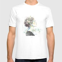 Vienna (1) Mens Fitted Tee White SMALL