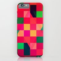 iPhone & iPod Case featuring Colors and Squares by Lupo Manaro