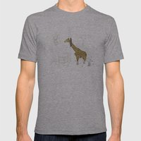 Natural Decorative Thophy Mens Fitted Tee Athletic Grey SMALL