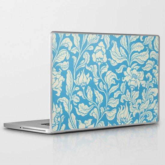 neo ethnic cerulean Laptop & iPad Skin