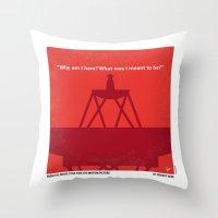 No081 My Star Trek 1 minimal movie poster Throw Pillow