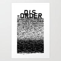 Dis-order Art Print