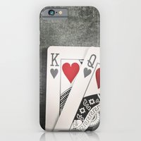 King And Queen Of Hearts iPhone 6 Slim Case