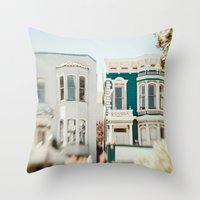 Be Colorful Throw Pillow