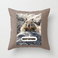 Got Nuts? Throw Pillow