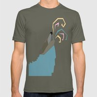Wolf Colors  Mens Fitted Tee Lieutenant SMALL
