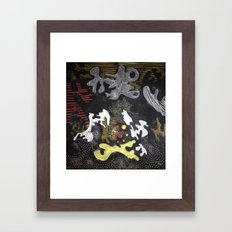 Quietly Loud Framed Art Print