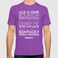 Louisville —Deliciou… Mens Fitted Tee Ultraviolet SMALL