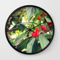 A Berry Nice Day Wall Clock