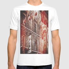 Chinatown, SF SMALL White Mens Fitted Tee