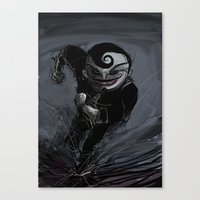 Creepy Runner Canvas Print