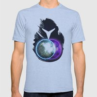 Metroid Prime 2: Echoes Mens Fitted Tee Athletic Blue SMALL