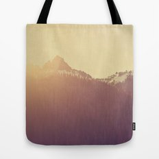 Sunrise over the Mountains Tote Bag