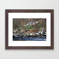 The Green House Framed Art Print
