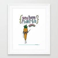 Worthy YOU. Framed Art Print