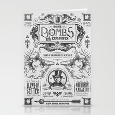 Legend of Zelda Bomb Advertisement Poster Stationery Cards