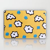 Dutch Flowers On Yellow Laptop & iPad Skin