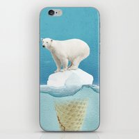 Polar Ice Cream Cap iPhone & iPod Skin