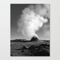 Mývatn Canvas Print
