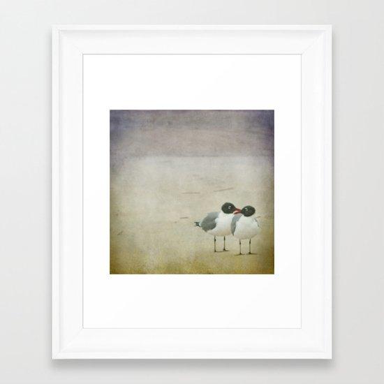 The Dynamic Duo Framed Art Print