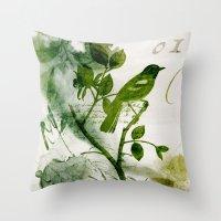 Birds (square 1) Throw Pillow