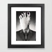 Fooce Framed Art Print