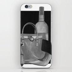 Fashion Illustration - Ink Wash iPhone & iPod Skin