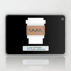 Caffeine is Super Effective Laptop & iPad Skin