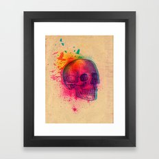 The Fleeting Framed Art Print