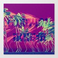 Горячая лини�… Canvas Print