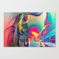 Sunrise - Landscape Form… Canvas Print