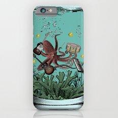 Musical Octopus Print iPhone 6 Slim Case