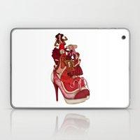 Ladies In Red Laptop & iPad Skin