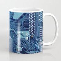 Electronic circuit board Mug