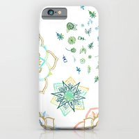 iPhone Cases featuring flwrs by Jozi