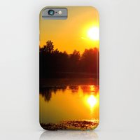 iPhone & iPod Case featuring sunset  by emsisson