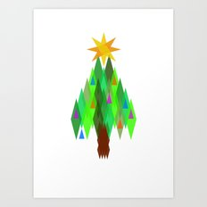Oh, Christmas Tree. Art Print