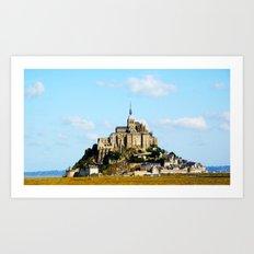Mont St Michel 2 Art Print