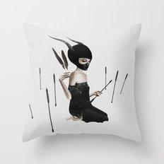 Odi Et Amo Throw Pillow